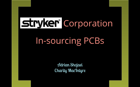 stryker corporation in sourcing pcbs solution