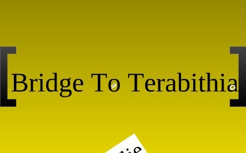 Copy of Bridge To Terabithia's Conflict and Struggles by ajk