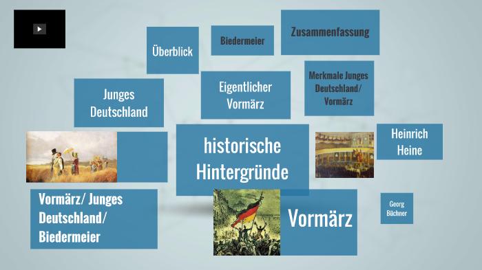 Junges Deutschland Vormärz Biedermeier By Tim Leistner On