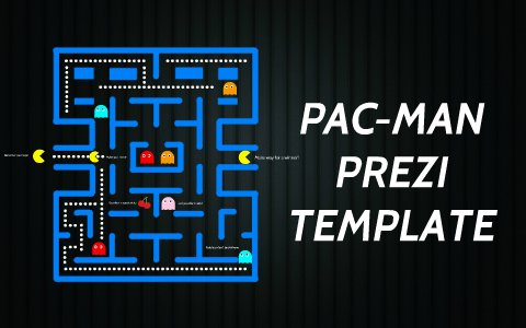 pac man prezi template by prezi templates by prezibase on prezi