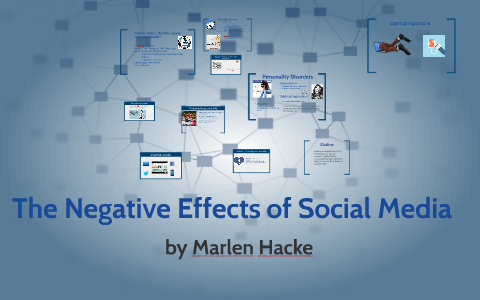 Of media consequences negative social Some Negative