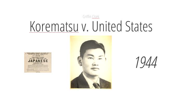 Korematsu v. United States by Rew