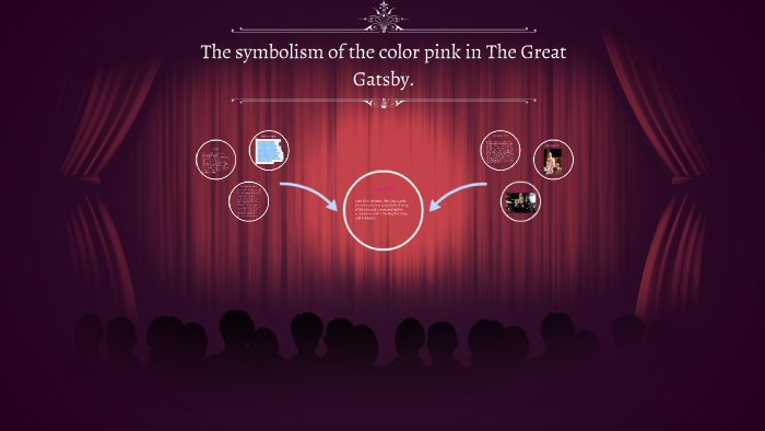 The Symbolism Of The Color Pink In The Great Gatsby By Breanne