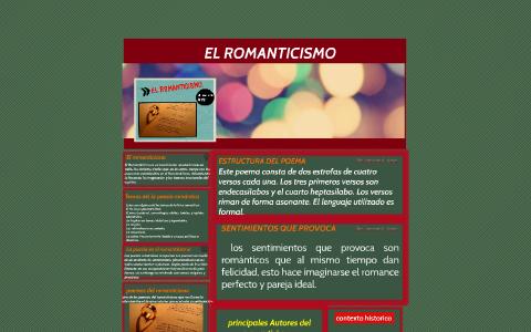 El Romanticismo By Laura Solis On Prezi