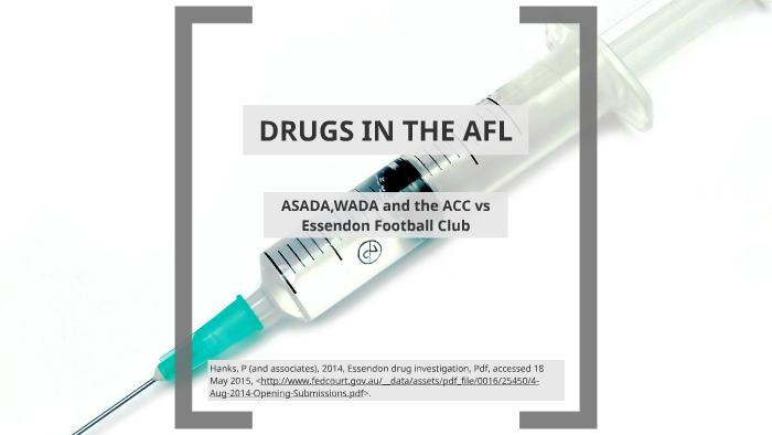DRUGS IN THE AFL by Matt Smith on Prezi