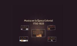 Musica En La Epoca Colonial By Alberto Castro