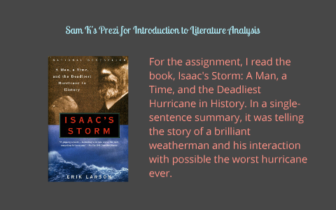 isaacs storm thesis