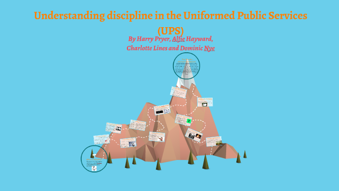 discipline in the uniformed public services