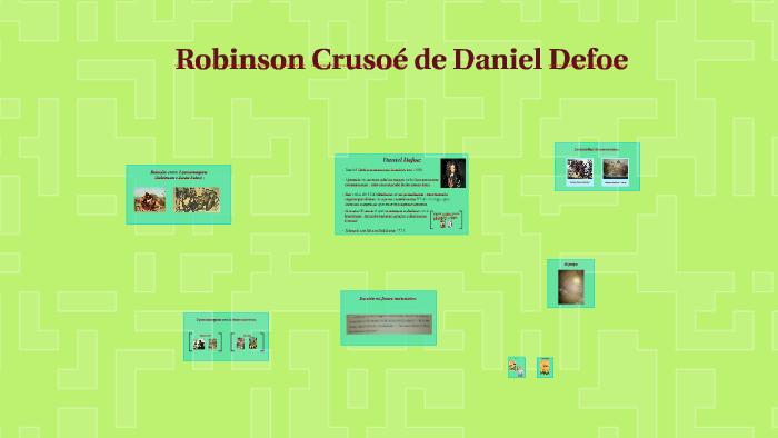 Robinson Crusoé De Daniel Defoe By Mariana Pires On Prezi