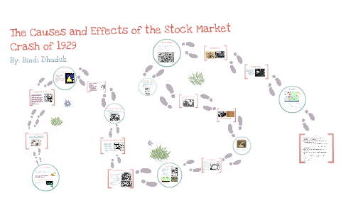 causes and effects of the stock market crash of 1929