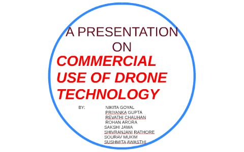 A PRESENTATION ON DRONE TECHNOLOGY by rohan arora on Prezi