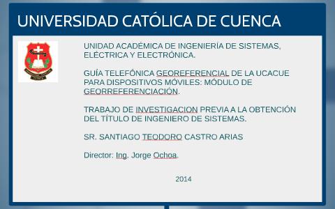a83c5f4aa65 Guía Telefónica Georeferencial Movil by Santiago Castro Arias on Prezi