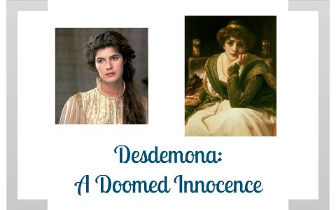 desdemona innocence