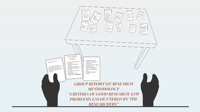 good research report