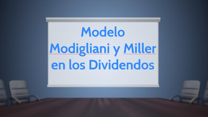 teoria de modigliani miller pdf