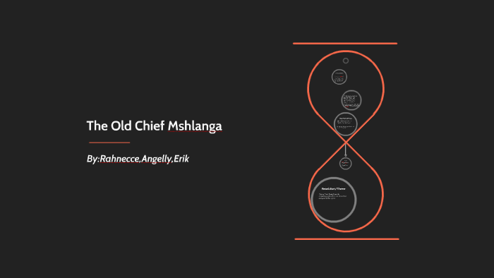 the old chief mshlanga full text