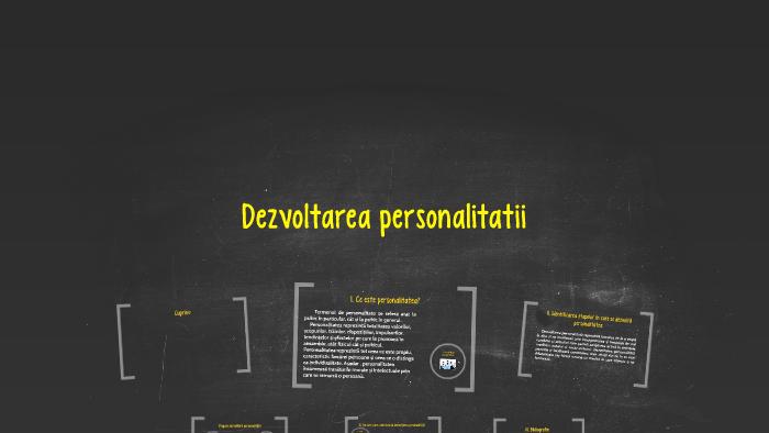 Etape in dezvoltarea personalitatii