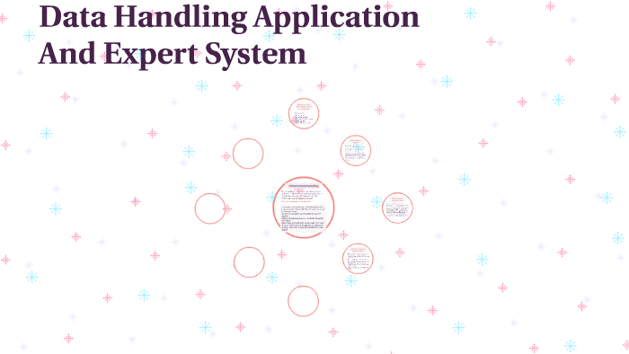 Data Handling Application And Expert System By Hessa A