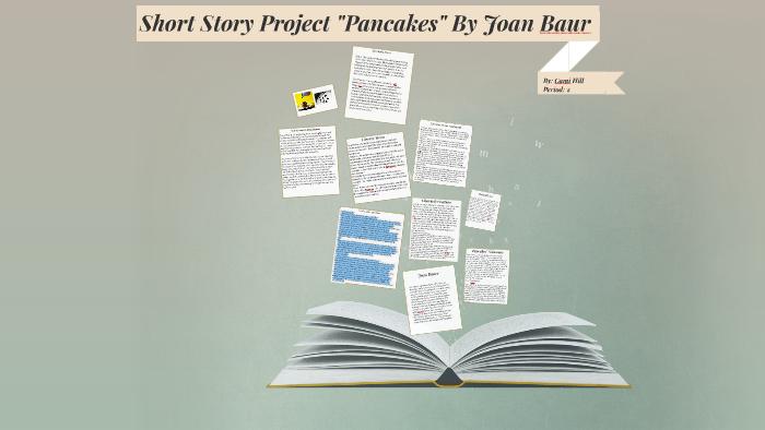 pancakes story joan bauer