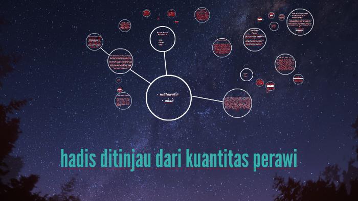 Hadis Ditinjau Dari Kuantitas Perawi By Maulida Ilyas On Prezi