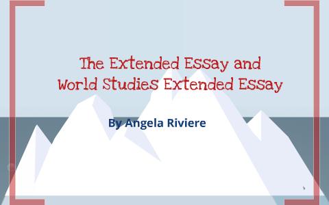 ib world studies extended essay examples