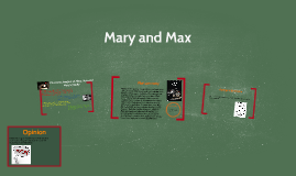 Mary And Max By Ami Duncan