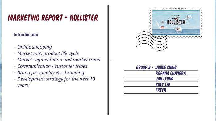 hollister marketing mix
