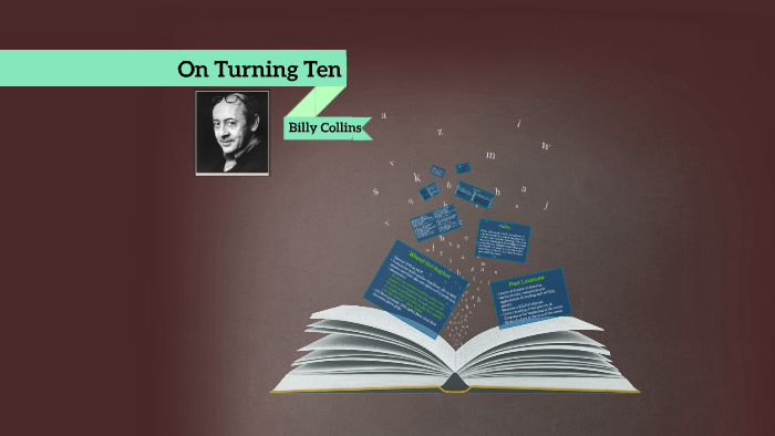 billy collins turning ten