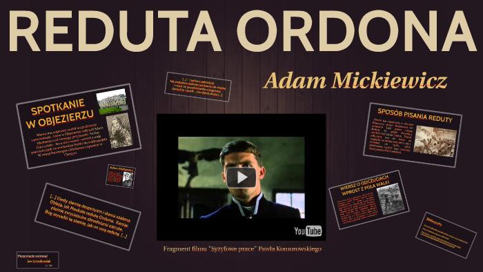 Reduta Ordona By Jan Grześkowiak On Prezi