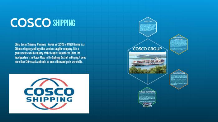 COSCO SHIPPING by María Fabregat on Prezi