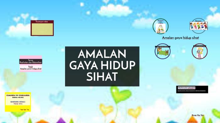 Amalan Gaya Hidup Sihat By Hor Yan On Prezi Next