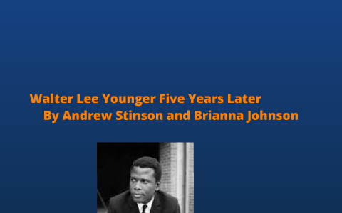 walter lee younger monologue