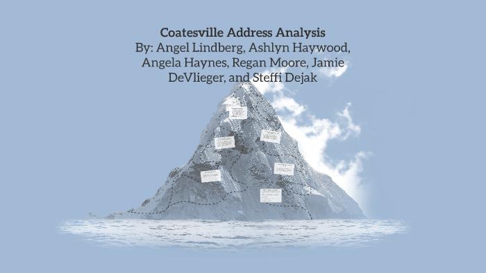 coatesville essay summary