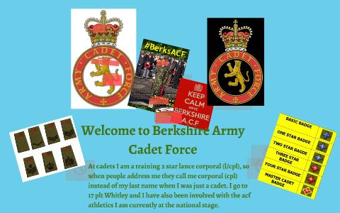 Berkshire Army Cadet Force by Julia Kelly on Prezi