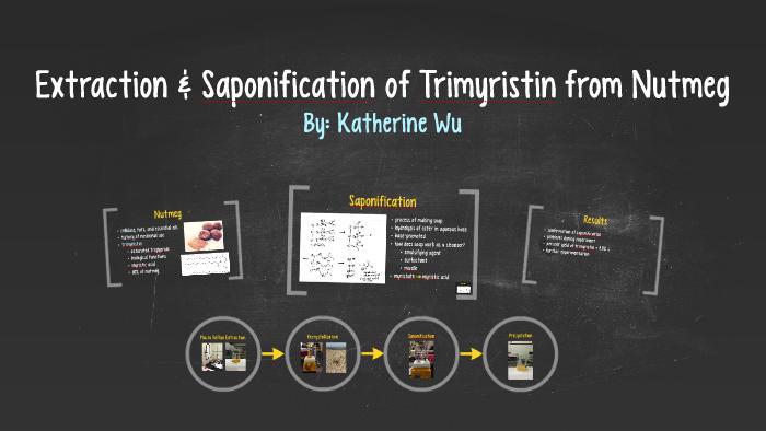 trimyristin extraction