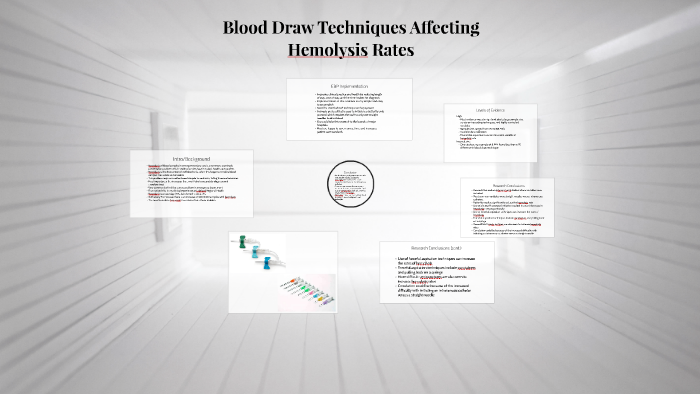 Blood Draw Techniques Affecting Hemolysis Rates By Jacob Scaff On Prezi