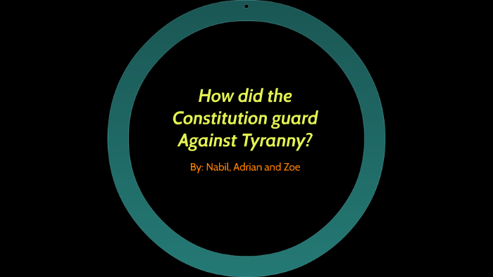 how does federalism prevent tyranny