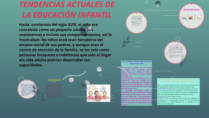 Tendencias Actuales De La Educación Infantil By Soniecita Pedraza