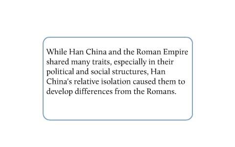 han china vs roman empire
