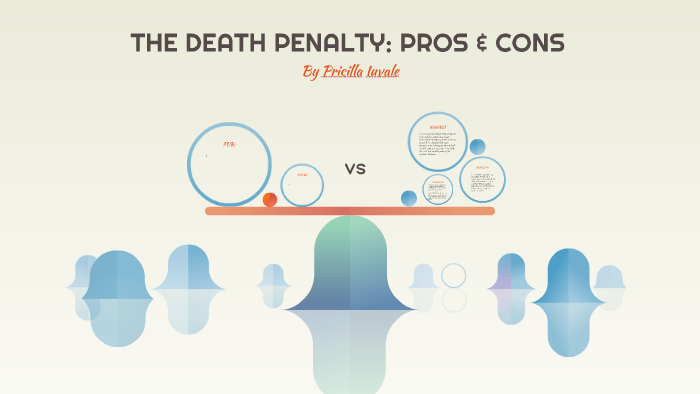 death penalty pros and cons