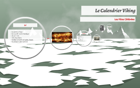 Vikings Calendrier.Le Calendrier Viking By Leah D P On Prezi