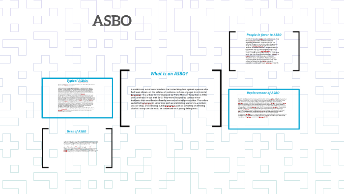 What Is An Asbo >> What Is An Asbo By Alessia Cavezza On Prezi