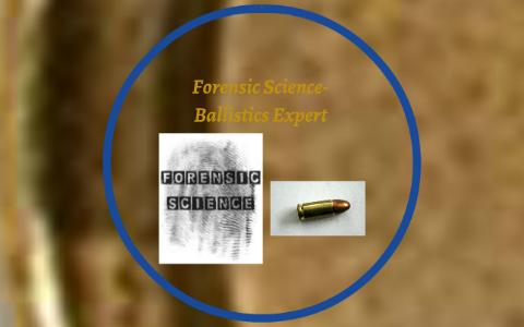 Forensic Science Ballistics Expert By Alex Tardelli