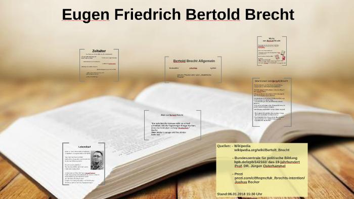Bertolt Brecht By Daniel Grigorasch On Prezi