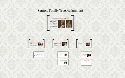 sample family tree assignment by teresa davis on prezi