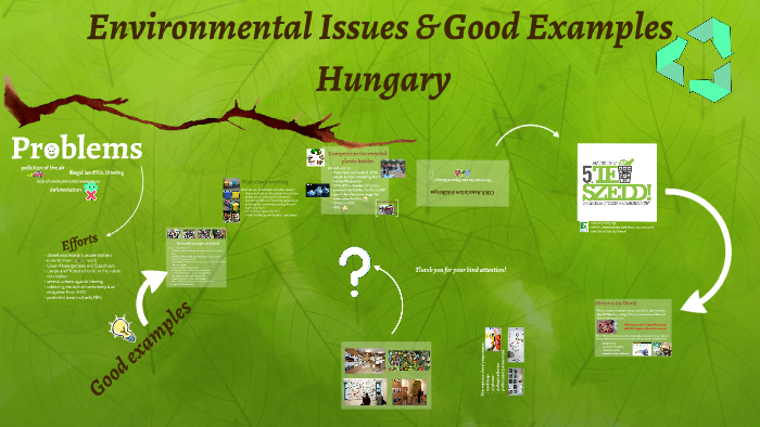 Environmental Issues and Good Examples in Hungary by Szofi L  on Prezi