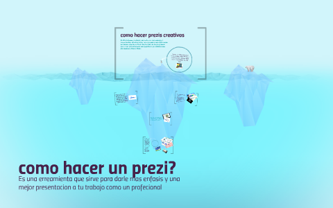 Como Hacer Prezis Creativos By Monserrat Rivera