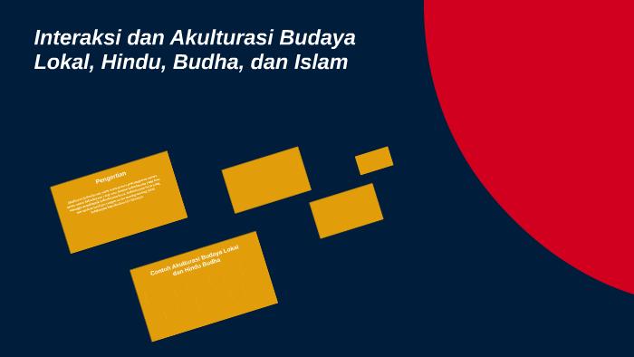 Interaksi Dan Akulturasi Budaya Lokal Hindu Budha Dan Isl By