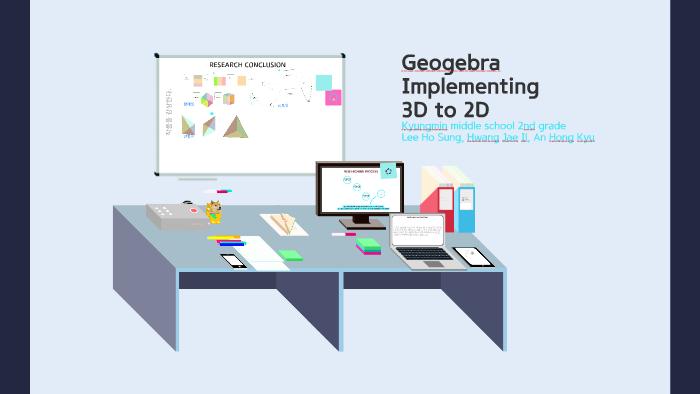 Geogebra 2d to 3d implementation by 홍규 안 on Prezi