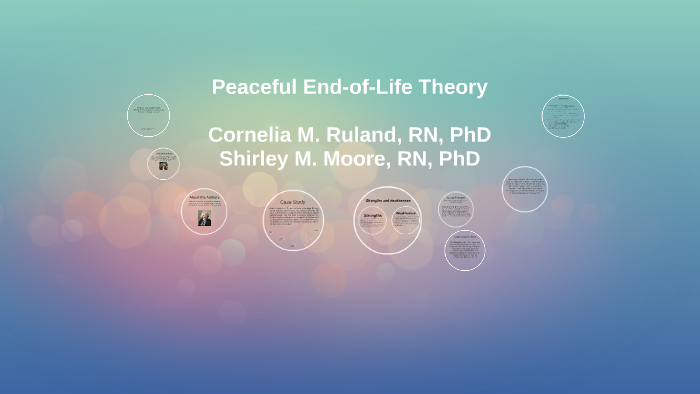 ruland and moore peaceful end of life
